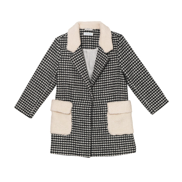 Hugo Coat - Houndstooth
