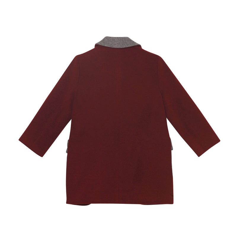 Hugo Coat - Burgundy