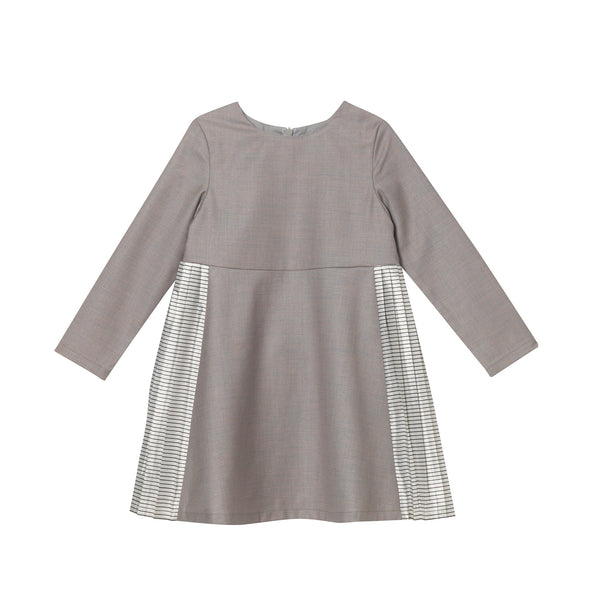 Faye Dress - Warm Grey
