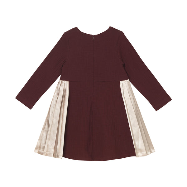Daphne Dress - Burgundy