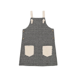 Heather Pinafore - Houndstooth