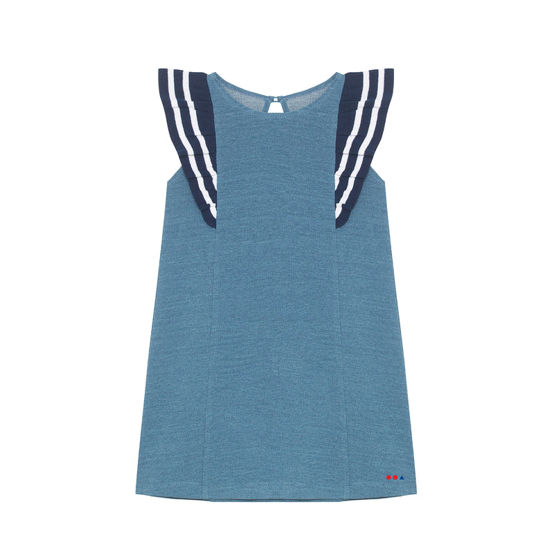 Nina Dress - Light Denim