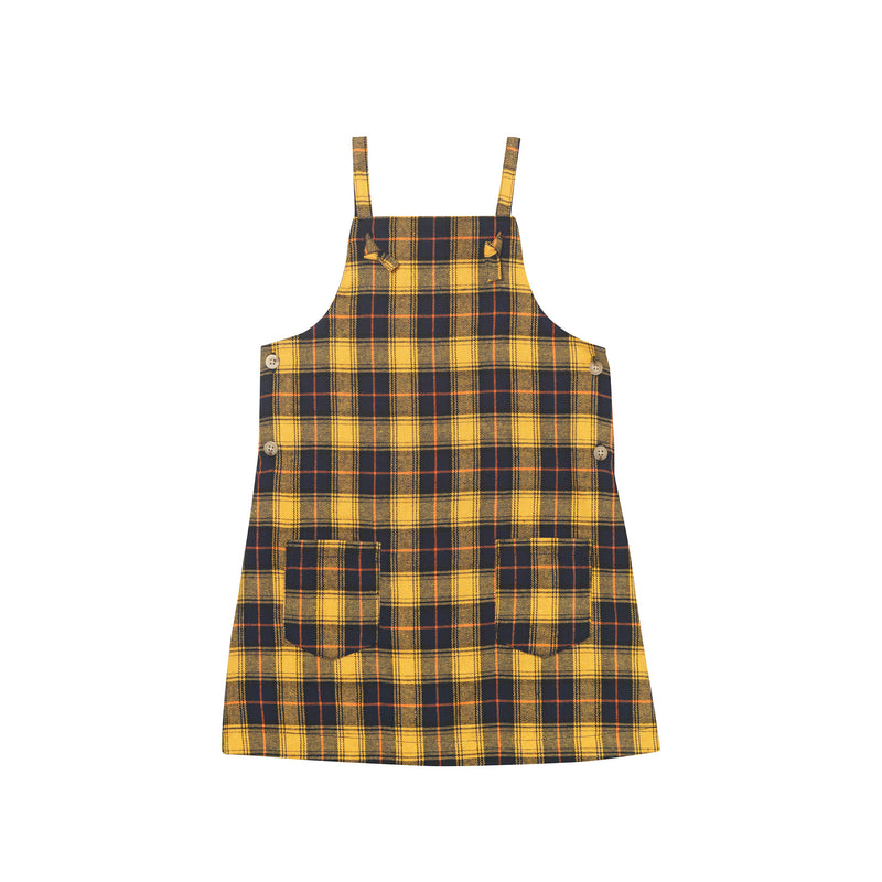 Heather Pinafore - Clueless Plaid