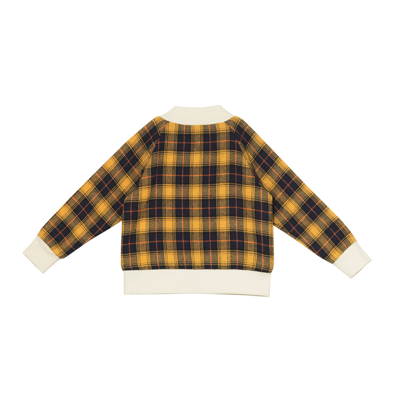 Josh Bomber Jacket - Clueless Plaid