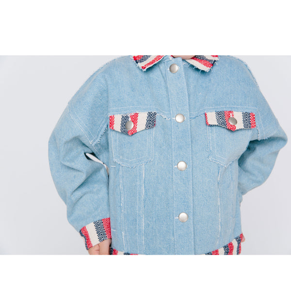 Kowloon Jacket - Light Denim
