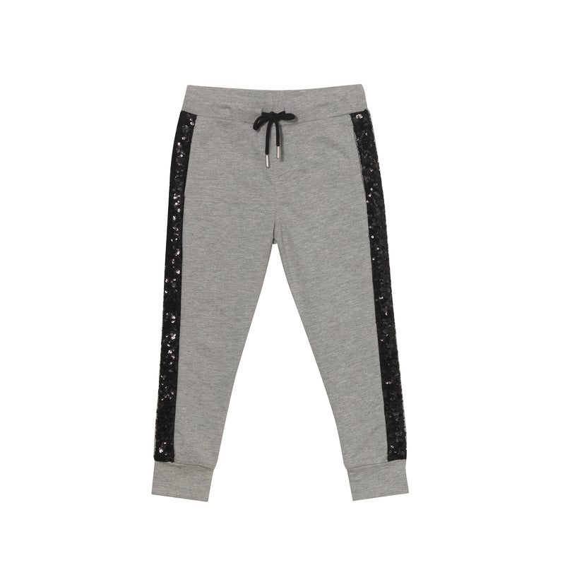 VHS Sweatpants - Grey & Black