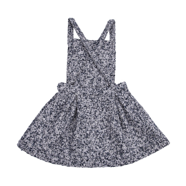 Emma Pinafore - Lurex Fuzzy Tweed