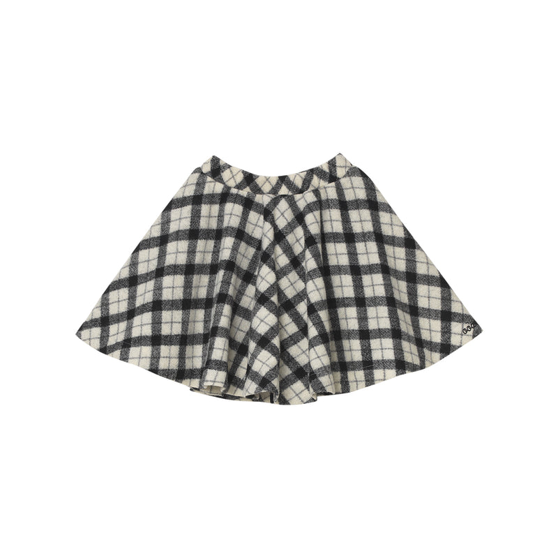 Megan Skirt - Woolen Plaid