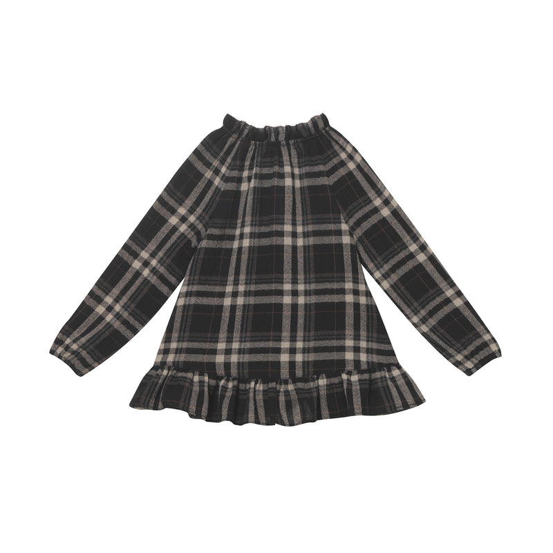 Ali Top - Charcoal Glen Plaid