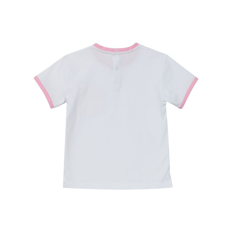 McFly T-Shirt - White/ Pink