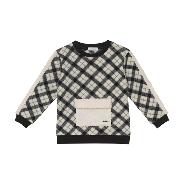 Bronson Sweatshirt - Woolen Plaid