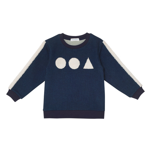 Bueller Sweatshirt - Denim Blue