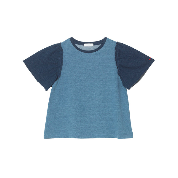 Phoebe Top - Light Denim