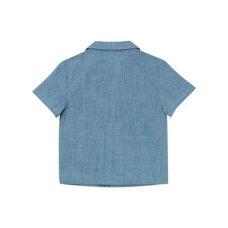 Marty Panama Shirt - Chambray