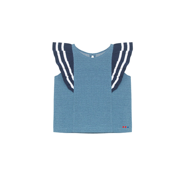 Nana Top - Light Denim