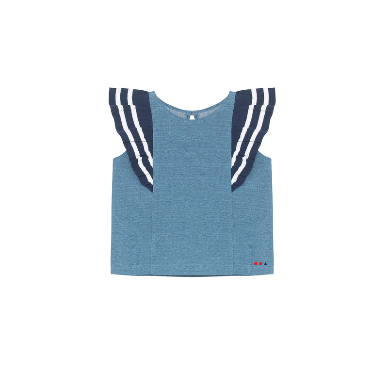 Nana Top - Light Indigo