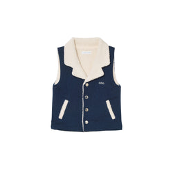 Ferris Vest - Denim Blue