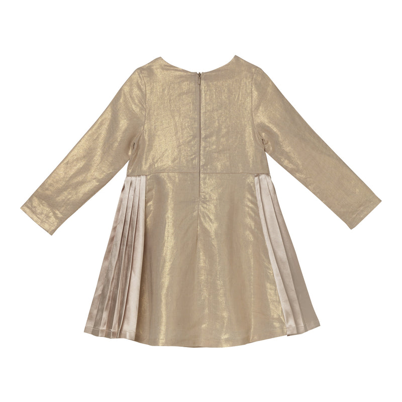 Daphne Dress - Spotlight Gold