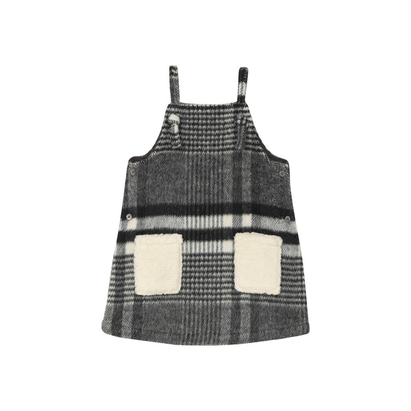 Heather Pinafore - Glam Plaid