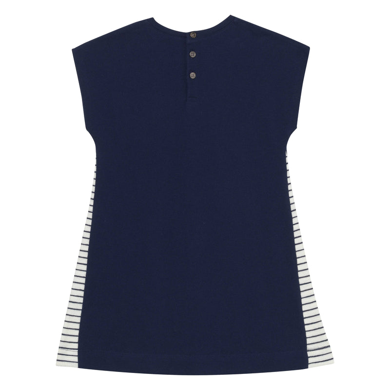 Skyline Shift Dress - Navy