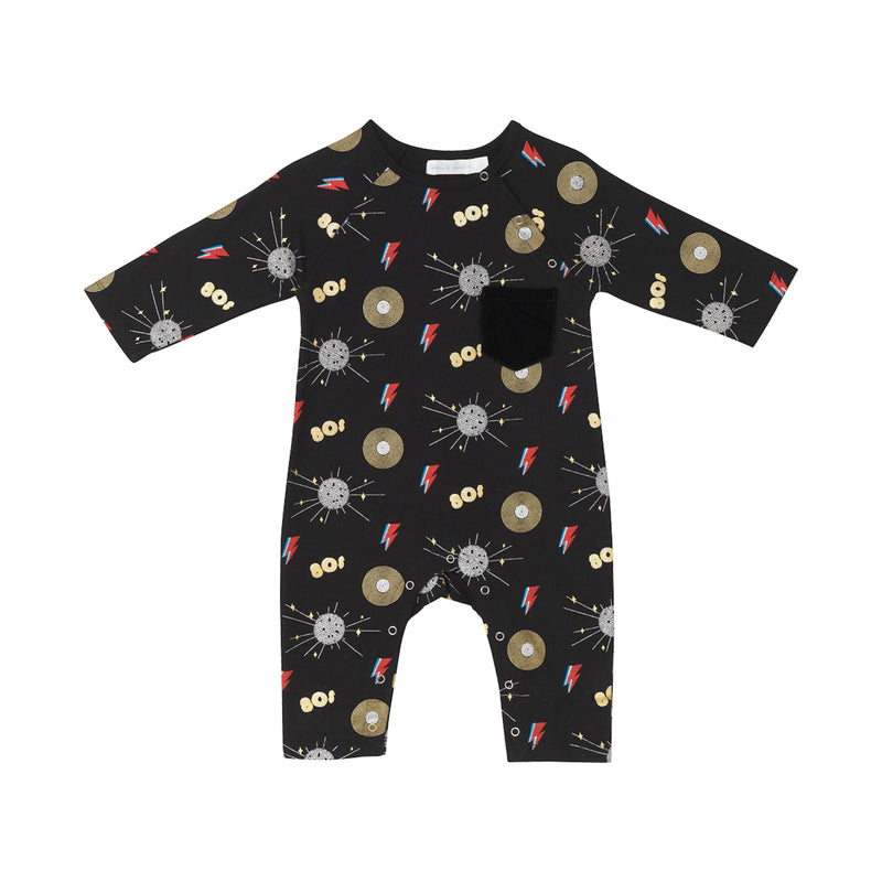 Carson Onesie - Disco Party Print