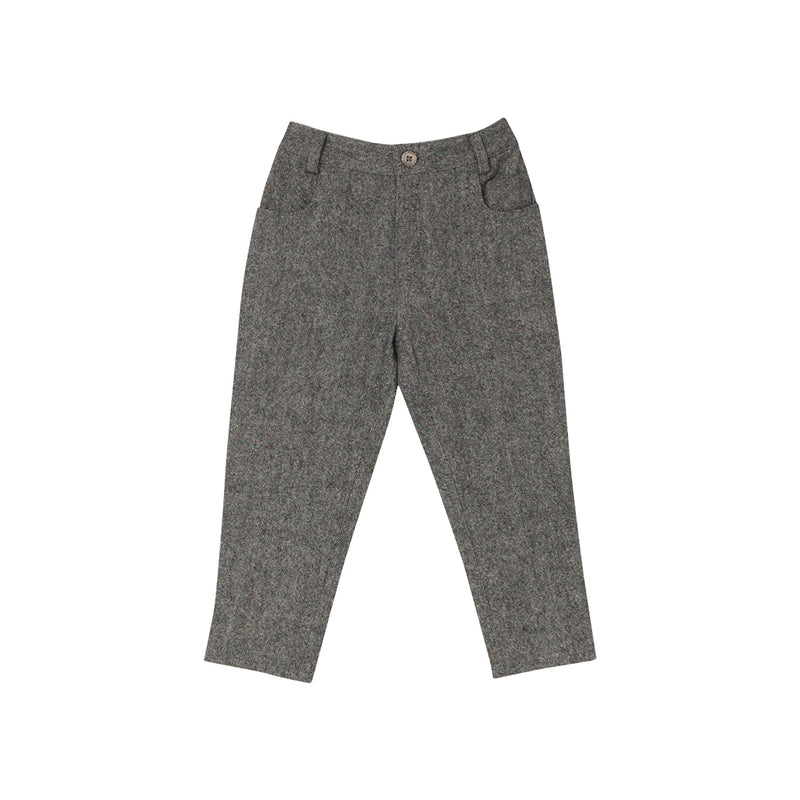 Ellen Trousers - Wool Tweed