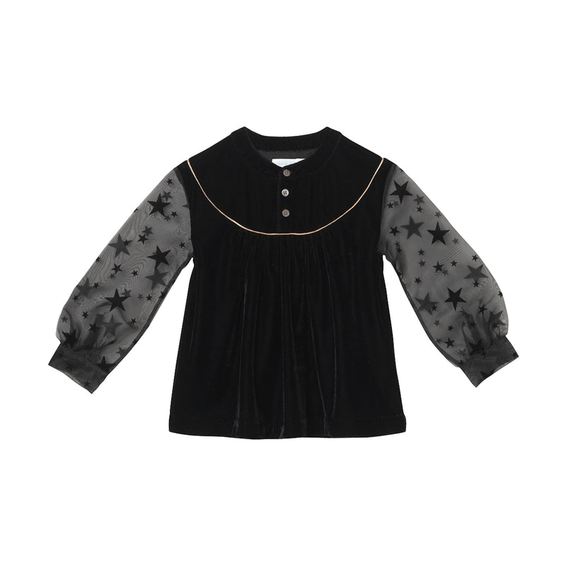 Naomi Blouse - Black Swan