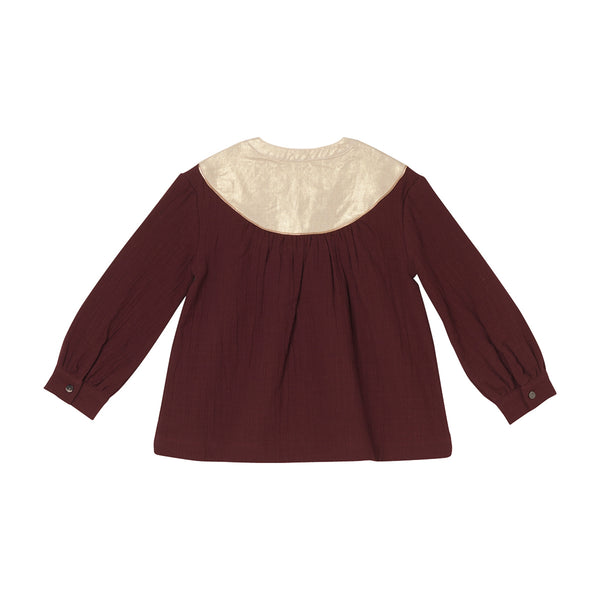 Naomi Blouse - Burgundy