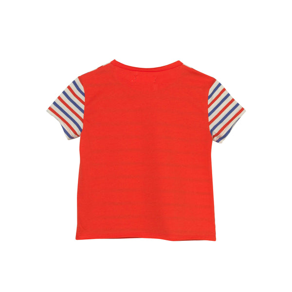 Central T-Shirt - RWB Stripe