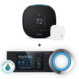 ecobee4 Smart Thermostat & Skydrop Smart Sprinkler Controller Bundle (self-installation)