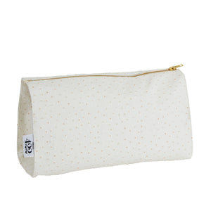 Sarah Ostrich Make Up Bag
