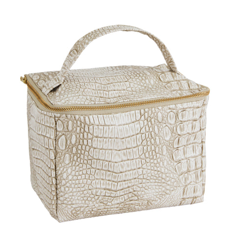 Blair Croc Toiletry Bag