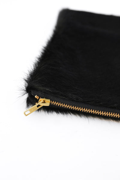 Callie Black Hyde Clutch