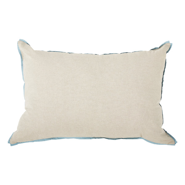 Danish with Fog Flange Oversized Pillow