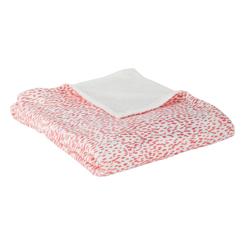Ellie Punch Printed Fleece Blanket