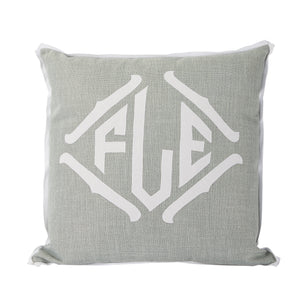 Fog Applique Pillow