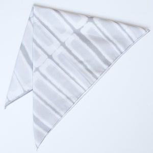 Grey Rectangle Bandana