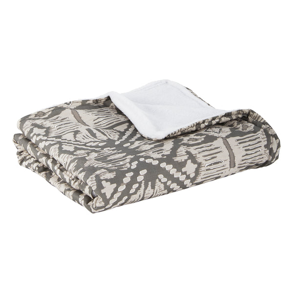 Scotty Pewter Deluxe Blanket