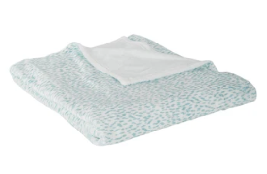 SS-Ellie Spa Printed Fleece Blanket