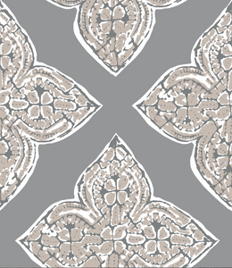 Aubry Pewter Fabric Swatch