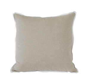 Danish with White Flange Colorblock Pillow