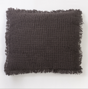 Charcoal Dutch Euro Pillow