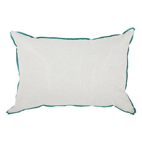 White With Spa Flange Oversized Pillow