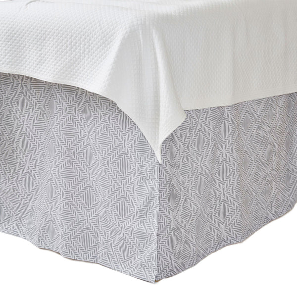 Ruth Pewter Bedskirt