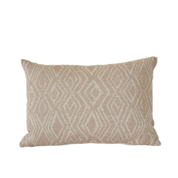 Laura Blush Lumbar Pillow