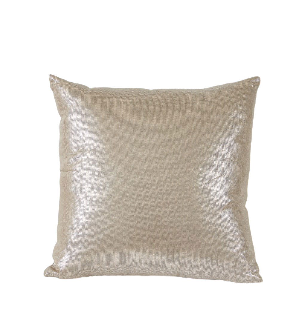 Chrome Metallic Pillow