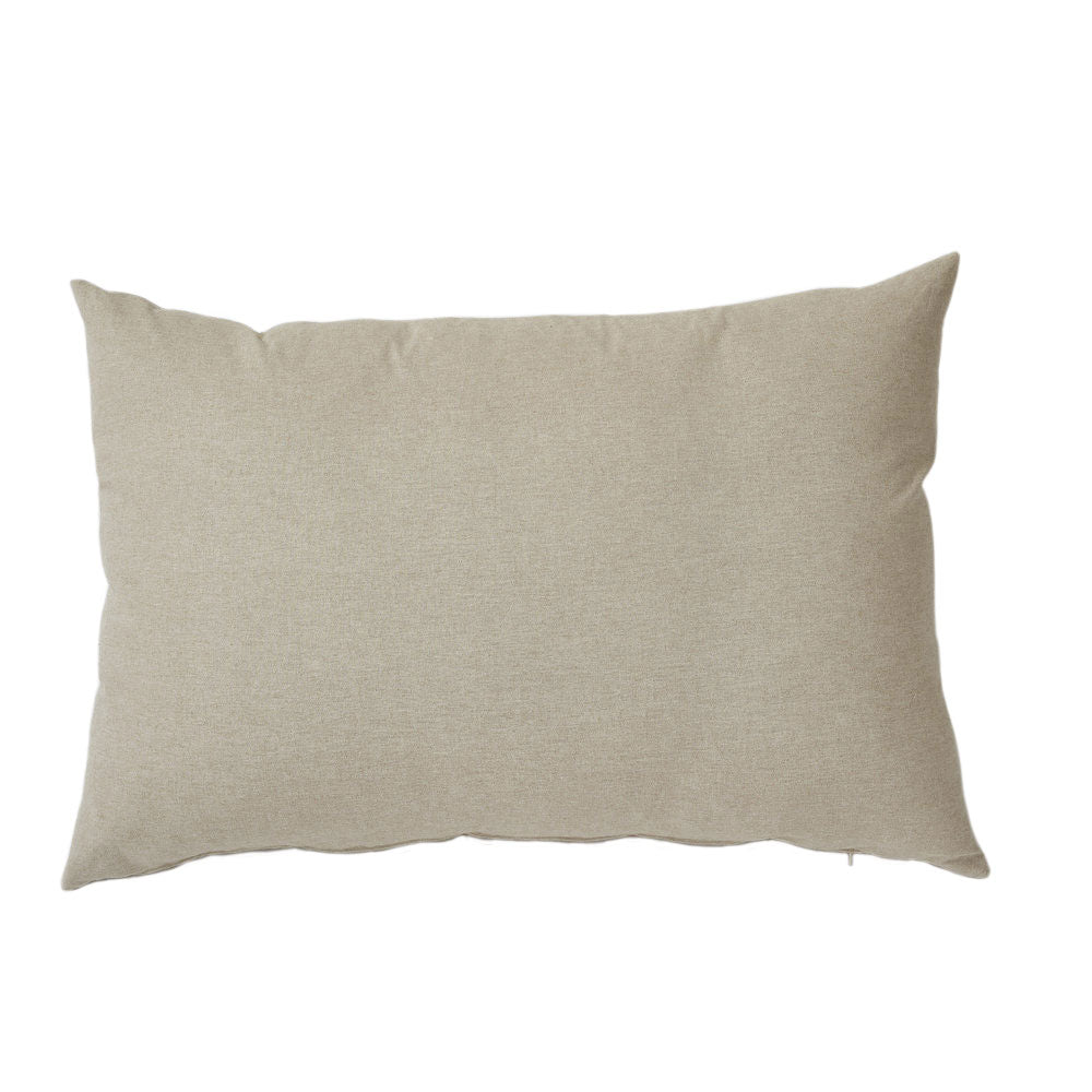 Danish with White Flange Oversized Pillow