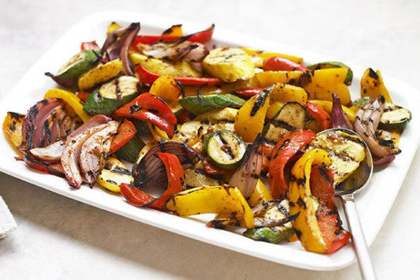 Grilled Vegetables in Tomato and Balsamic Sauce