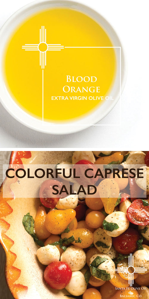 Colorful Caprese Salad