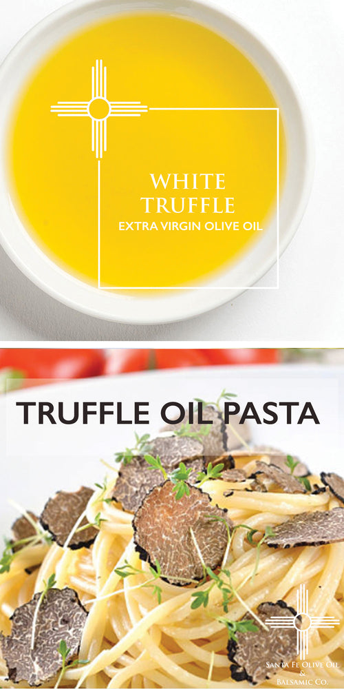 Truffle Oil Pasta with Mushrooms & Fresh Truffle